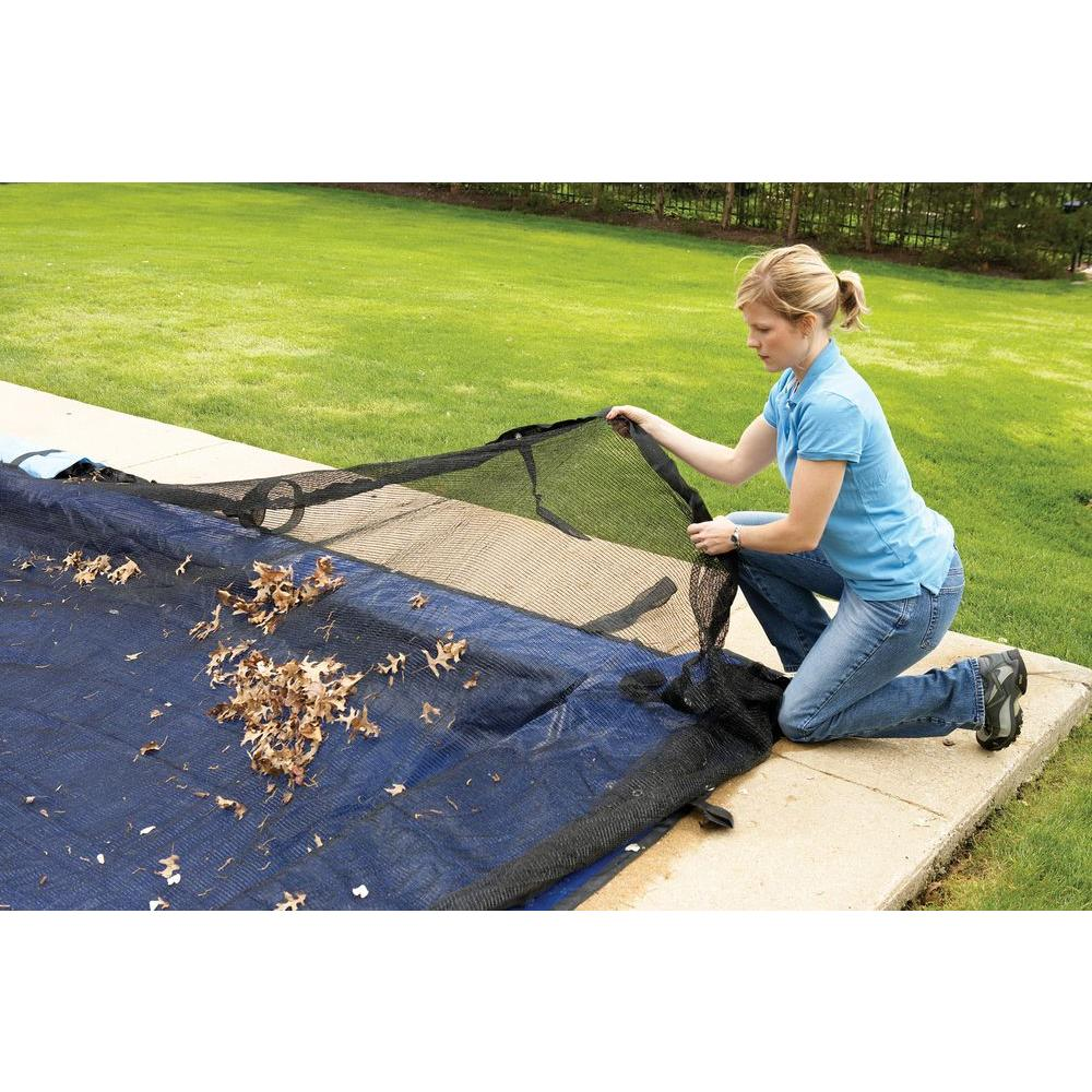 Arctic Armor Leaf Net Swimming Pool Cover