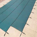 Excel Mesh Pool Cover with Step