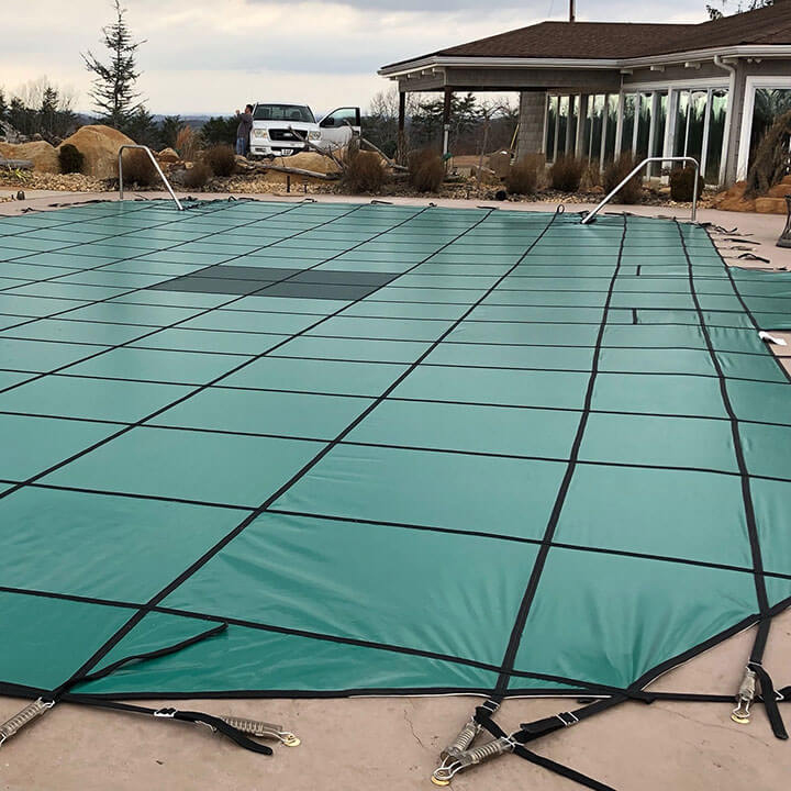 20'6 x 50'6 Grecian Hydra-Lite Weight Safety Pool Cover