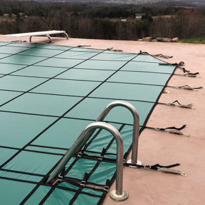 12 x 20 Grecian Hydra-Lite Weight Safety Pool Cover