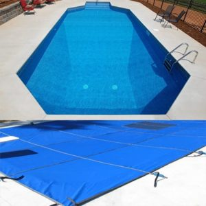 Grecian Hydra Mesh Safety Pool Cover