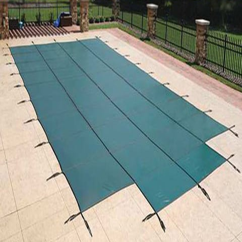 20 x 40 Hydra Mesh Safety Pool Cover With Step